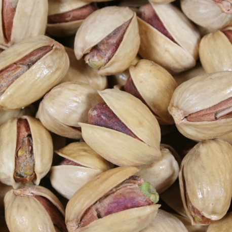 half salted pistachios