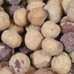 Hazelnuts salted