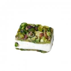 nougat with pistachio paste