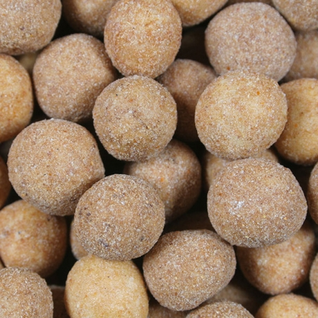 Chickpeas coated smoked